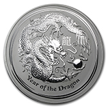 Perth Mint Silver (2012 Dragon Coins) (Series 2)